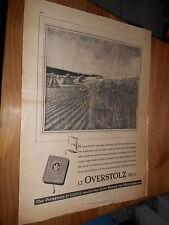 original Werbung Reklame Annonce Overstolz Zigaretten ca. 40er Jahre