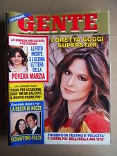 GENTE n°20 1982 Loretta Goggi Gloria Paul Isa Miranda [G739]