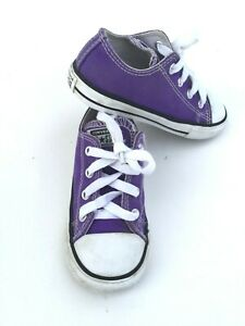 Converse All Star Todler Kids Girl's Boy Lace Up Sneakers Teniss Size 8