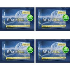 BRAIN PILL Focus Supplement BOOST Memory Cognizin Synapse factor-4 Month Supply