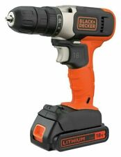 Black + Decker 18V Lithium-ion Drill Driver with Accessories