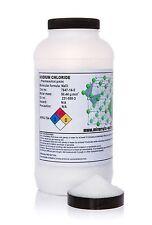 1kg chlorure de sodium * fine * granules * grade pharmaceutique *