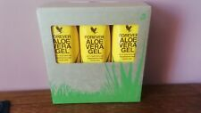 Forever Living 100% Stabilised Aloe Vera Gel X3 1 Litre Cartons New