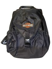 Harley-Davidson Motorcycles Black Backpack New W/Out Tags