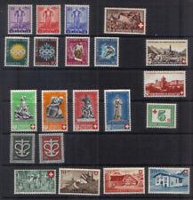 Switzerland 1936-46 Eight mint sets