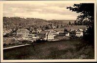 Bad Liebenstein Thüringen DDR Postkarte 1956 Blick auf Heinrich Mann Sanatorium