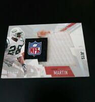 2003 Curtis Martin Upper Deck S/P Winning Materials Jumbo Jersey Card 304/ 350