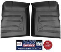 LEFT & RIGHT HAND FRONT FLOOR PANS (2) SUIT FORD XR XT XW XY XA XB XC XD XE XF