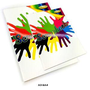 Scrapbook Photos Art Crafts Memories Holidays Keepsake Colour Album Book A3 & A4