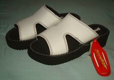 Vtg 1997 Baywatch Gear Sandals Slip On Chunky 90s Womens Size 10 Platform Slider