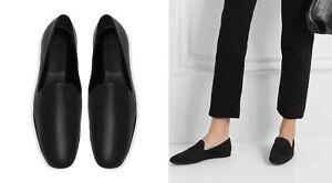 NIB Vince Paz Leather Flat Slip-On Loafer, Black Size 8.5, 10 $275