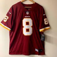 Nike Washington Redskins Kirk Cousins NFL On Field Hand Stitched Jersey - Size L