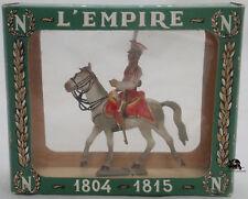 Figurine STARLUX 2e Rgt Chevau-Légers Lancier Garde Trompette en bôite Réf 8185
