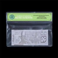 WR 999 Silver Foil  Australian 50 Dollar Note Banknote Rare Collection COA