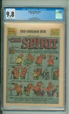 Spirit Section #nn CGC  9.8  7-11-43 Chicago Sun