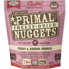 Primal Pet Foods Px00098 Freeze-dried Canine Turkey and Sardine Formula 14 Oz Z