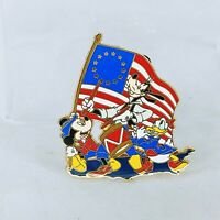 Mickey Mouse Goofy & Donald Duck Celebrating the Fourth of July Disney Pin 36785