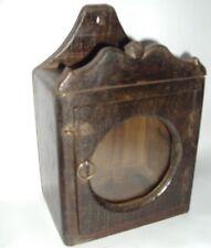 Old Wooden Small Show Case Box | Clock Box | Vintage item | Multi Purpose