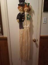 """Wedding Bride & Groom Windsock - Flag - Outdoor Marker 10"""" x 60"""""""