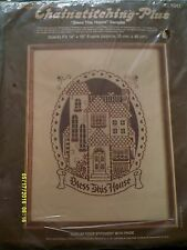 "Paragon Chainstitching Plus ""Bless This House"" Embroidery Kit Size 14"" x 18"""