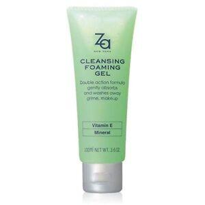 [Shiseido] Za Facial Limpiador Espuma Gel Y Removedor de Maquillaje 100ml Nuevo
