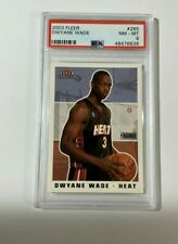 2003 Fleer DWAYNE WADE ROOKIE PSA 8! HOT RC 265! WELL CENTERED! HOLIDAY INVEST!