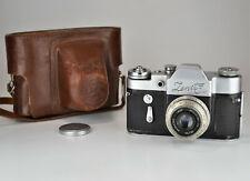 "SALE FROM DOLLAR! 1963 RUSSIAN USSR ""ZENIT-3M"" SLR camera +INDUSTAR-50 lens (2)"