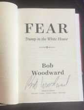 Robert Bob Woodward Fear Signed Book White House First Edition Proof 2018 Coa