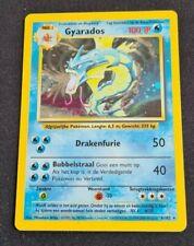 Pokemon Card Gyarados 6/102 Ex/lp Holo Dutch