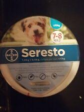 Collare SERESTO Bayer antiparassitario cani fino A8 kg