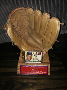 Ted Williams Boston Red Sox Vintage Baseball Glove