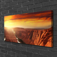 Canvas print Wall art on 100x50 Image Picture Grand Canyon Landscape