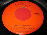 BILLY HARNER - SHE'S ALMOST YOU / FOOL ME  45 RARE SOUL