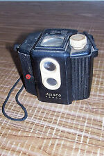 Antique Ansco Panda Box Camera 620 Film Vintage Collectible Photography Photo