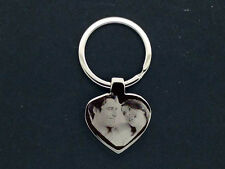 PERSONALISED VALENTINES PHOTO/TEXT ENGRAVED KEYRING