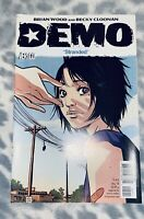 $3 Demo #5 of 6 'STRANDED' Becky Cloonan Brain Woods Vertigo Comic Book