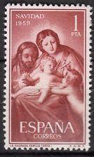 TIMBRE ESPAGNE NEUF N° 942 **  NOEL LA SAINTE FAMILLE DE GOYA