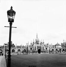 CAMBRIDGE c. 1958 - Great Gate King's Collège Angleterre - Négatif 6 x 6 - UK 5
