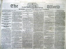 Lot of 5 original 1861-1865 Civil War PRO UNION newspapers from the NORTHEAST US