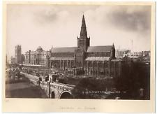 Scotland, Glasgow cathedral Vintage albumen print,  Tirage albuminé  13x20