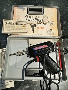 Weller expert Soldering Gun 8200D Dual Heat 100/140W made in England
