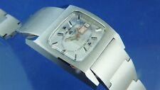 Vintage 1970s Bucherer Incredible Automatic Gents Bracelet Watch ETA 2789 Retro