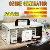 220V 30G/H Protable Ozone Generator Air Purifier Sterilizer Disinfection Timer