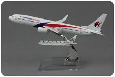 Malaysia Airlines Boeing 737-800 Passenger Airplane Metal Plane Diecast Model