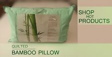 Anti-Bacterial -Anti-Alergy  Bamboo & Cotton Quilted Pillow  ONE - OF - A - KIND