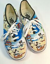 New Vans X Disney Mickey Mouse Aloha Hawaii Print Shoes Size Mens 5.5 Womens 7
