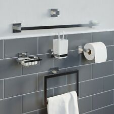 Bathroom WC Accessories Tumbler Towel Ring Soap Dish Towel Rail Robe Hook
