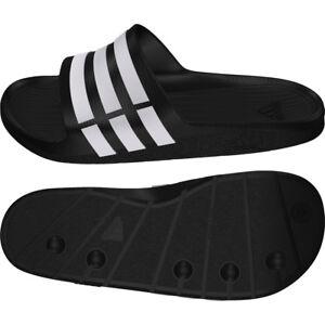 Adidas Adilette Duramo Slide 37-48 schwarz G15890 Badelatschen Badeschlappen