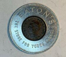 1947 Canada Cent Encased Easton'S