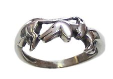 Dachshund dog breed Ring SterlingSilver 925 all size